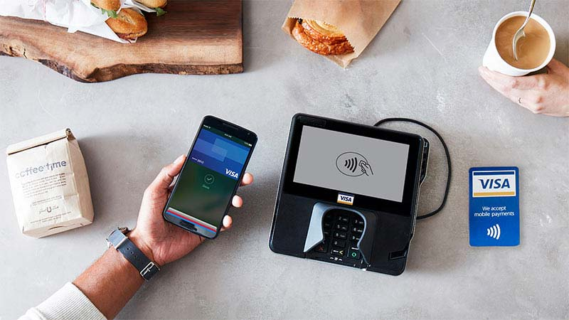 Visa con Apple Pay